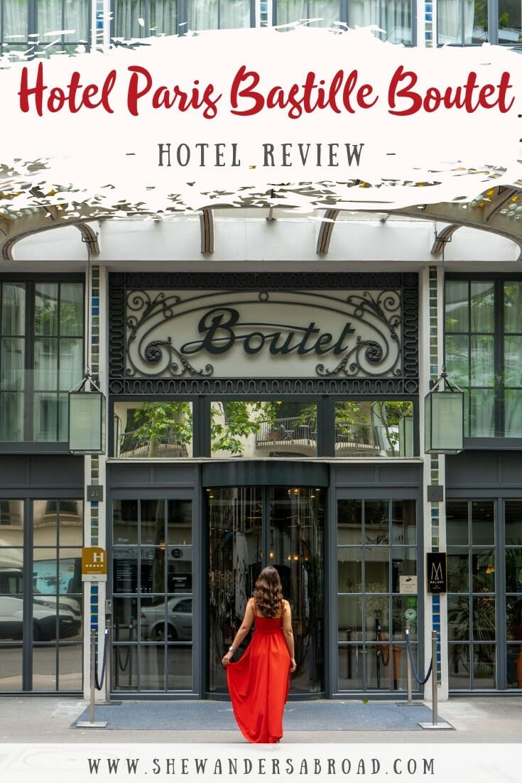 Hotel Paris Bastille Boutet Review