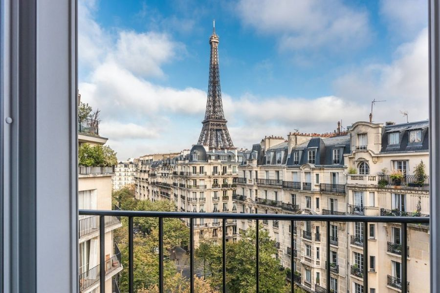 Gold'n Marble - Apartment with Eiffel Tower view