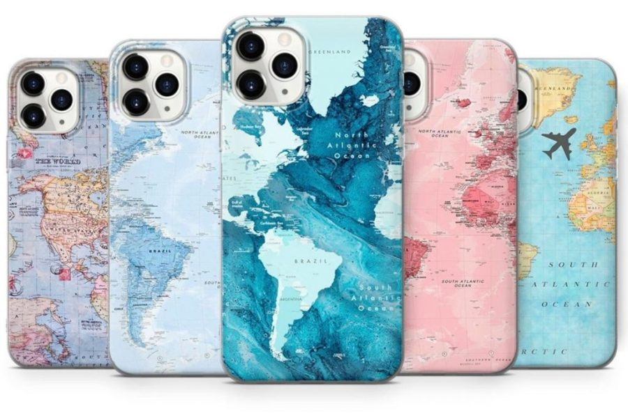 World Map Phone Case
