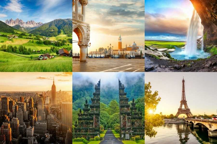 The Most Beautiful Dream Destinations of the World You Should Add to Your Travel Bucket List