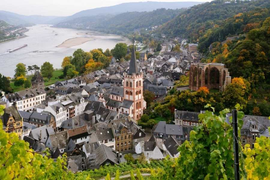 St. Peter's Church in Bacharach, Germany
