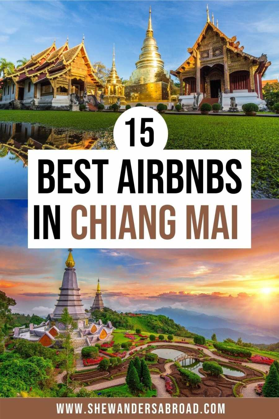 Best Airbnbs in Chiang Mai Thailand