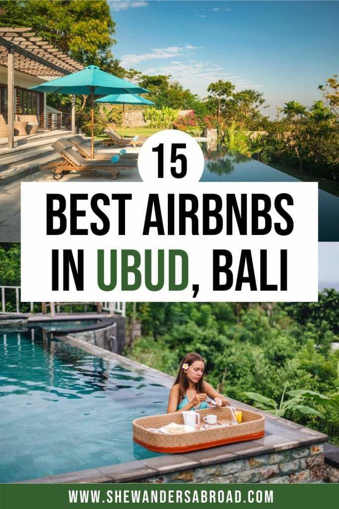 Best Airbnbs in Ubud, Bali