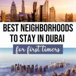 Best areas to stay in Dubai