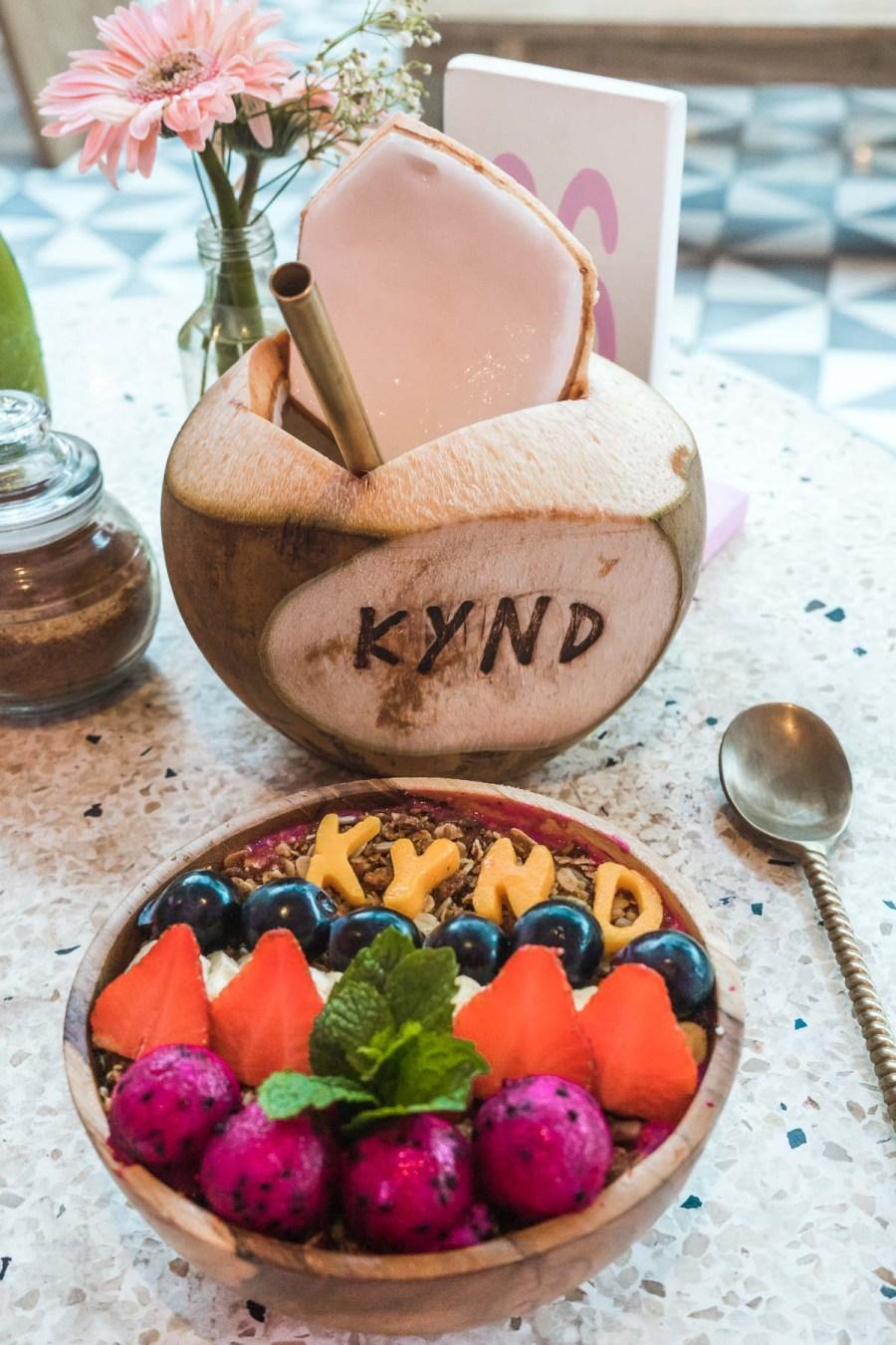 Breakfast at Kynd Community in Seminyak, Bali
