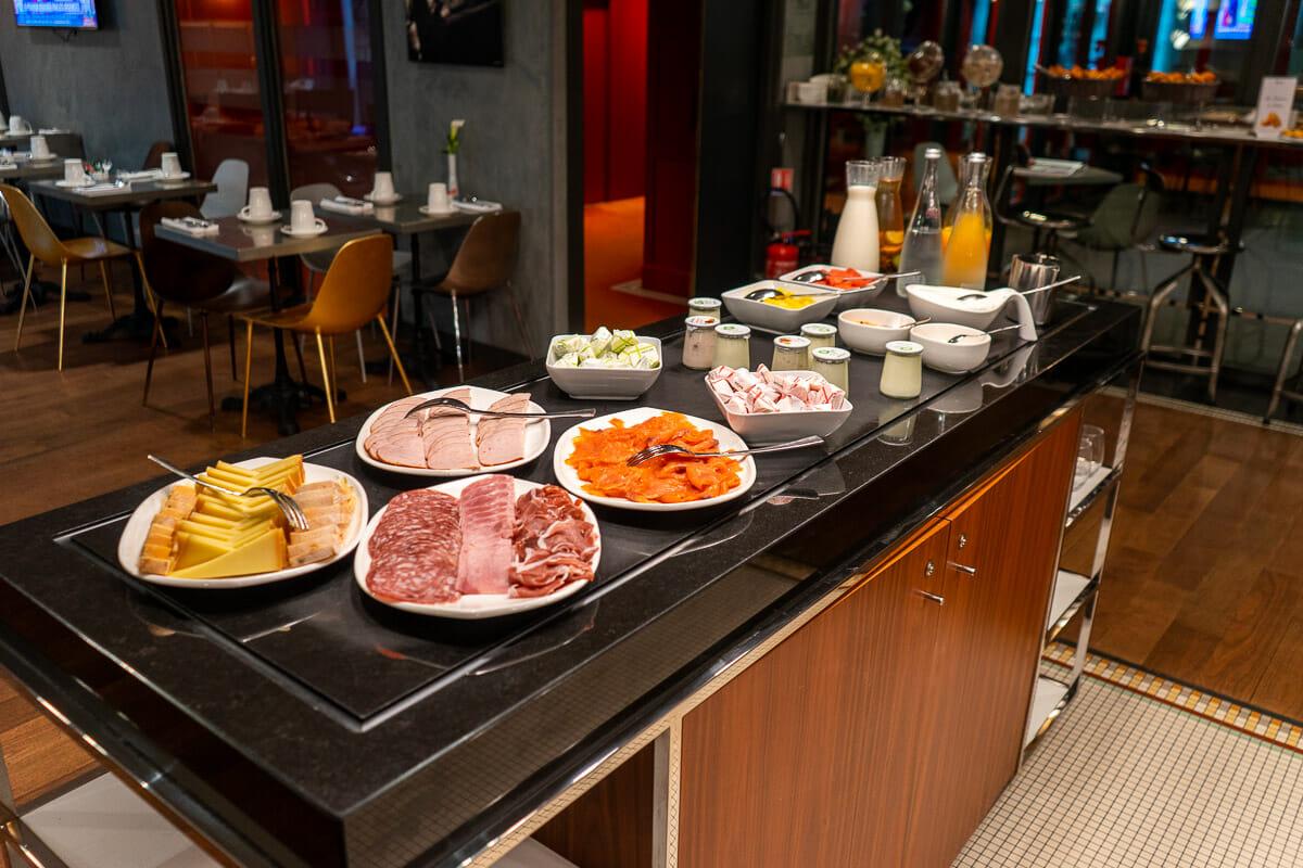 Breakfast in Hotel Paris Bastille Boutet