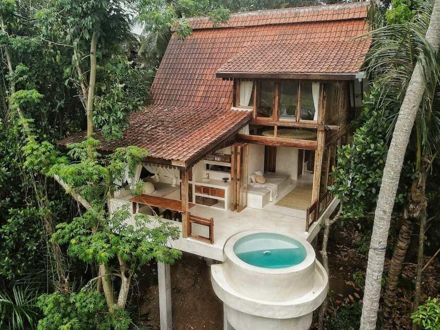 CAHAYA Skai Joglo - Treehouse with ricefield view