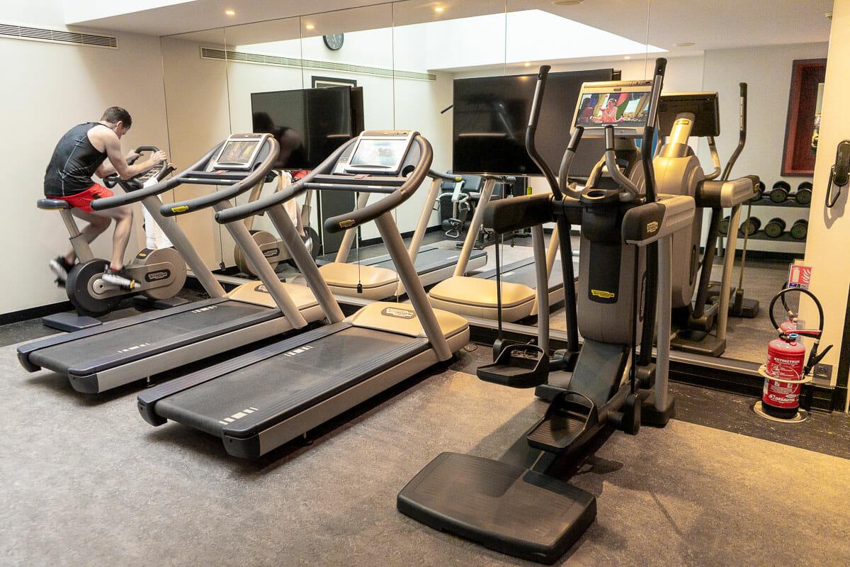 Gym in Hotel Paris Bastille Boutet