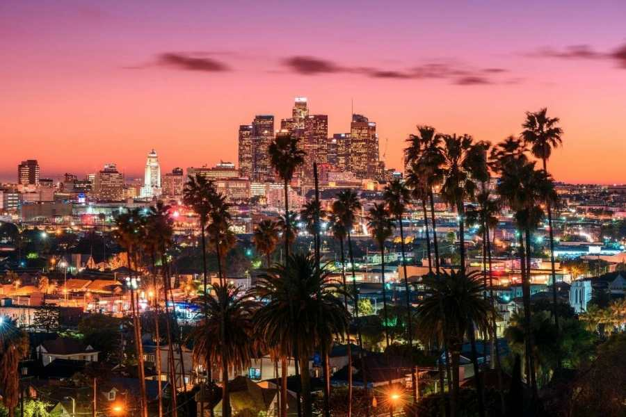 Los Angeles skyline, USA