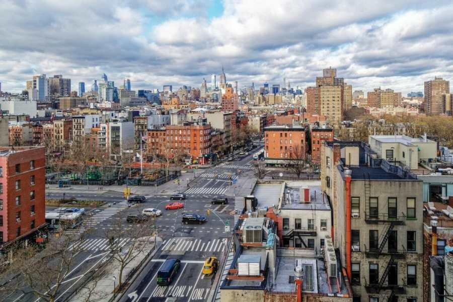 Lower East Side Skyline View
