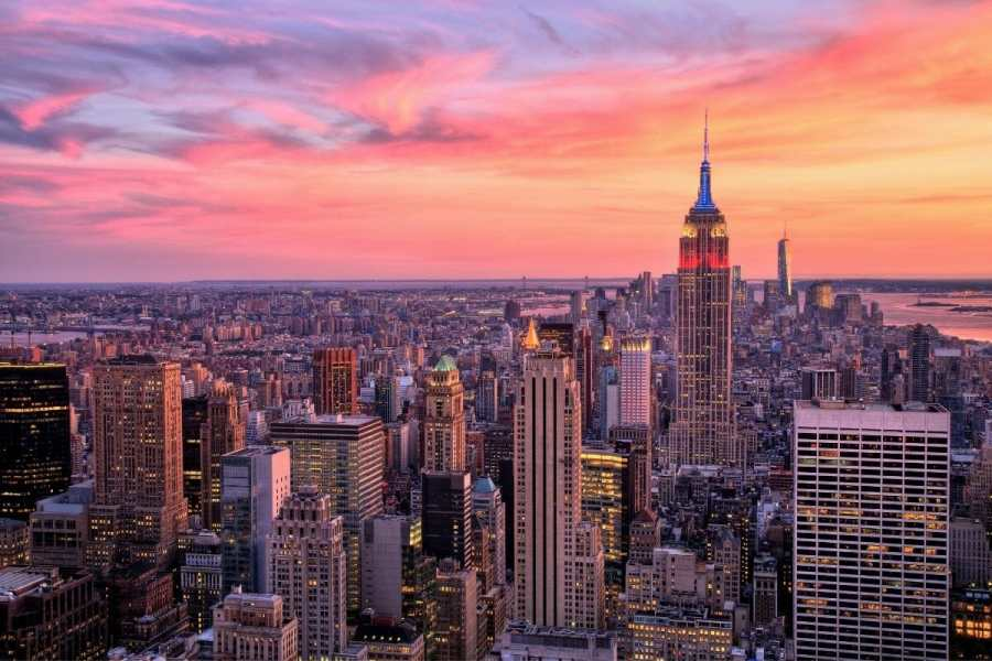 Midtown Manhattan with the Empire State Building
