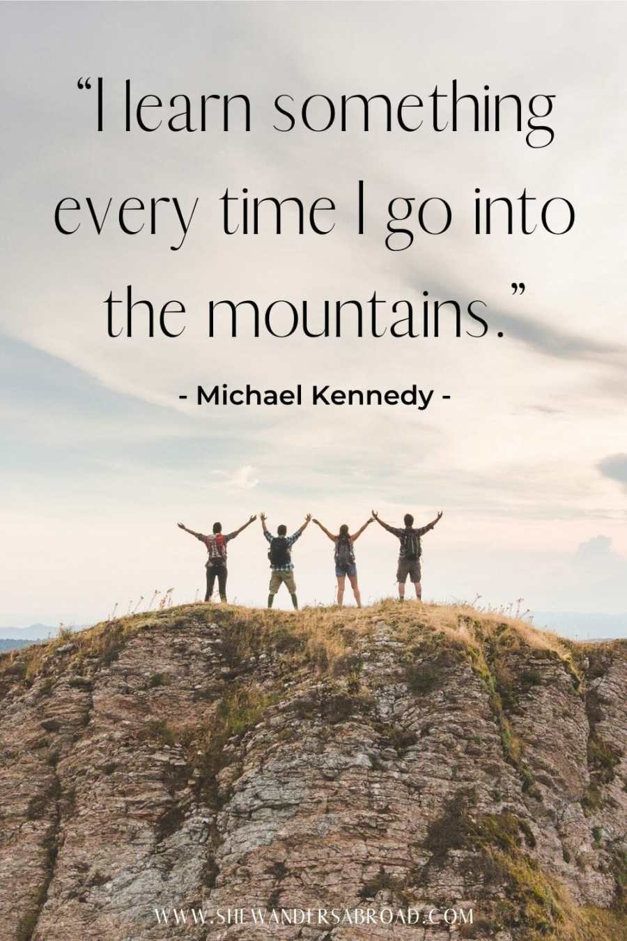 Beautiful mountain quotes