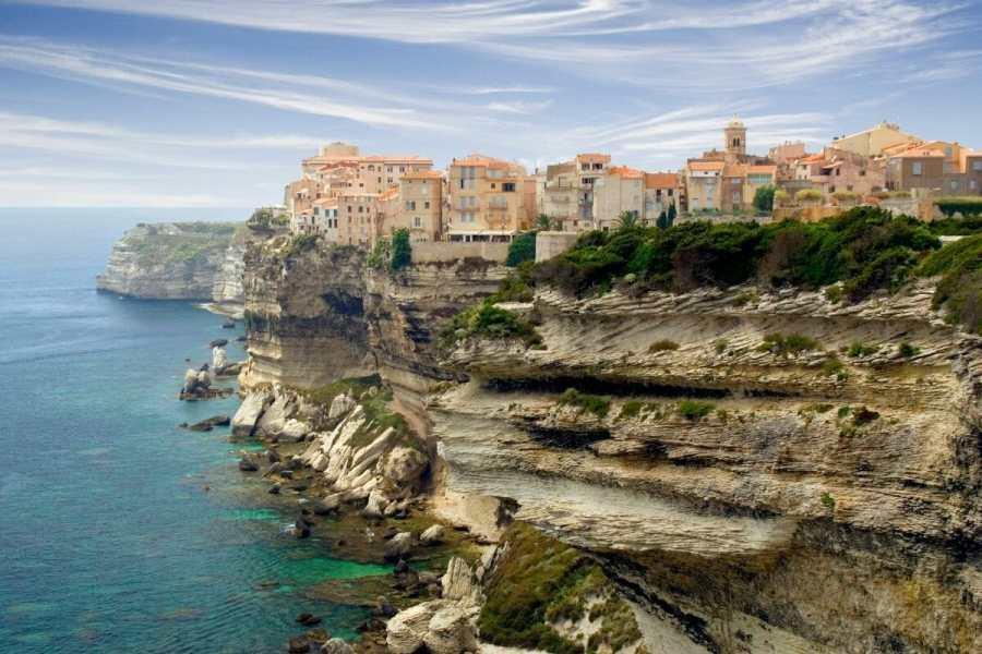 Old Town of Bonifacio, Corsica, France