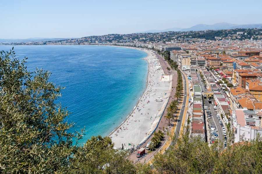 Promenade des Anglais is a must visit when spending one day in Nice, France