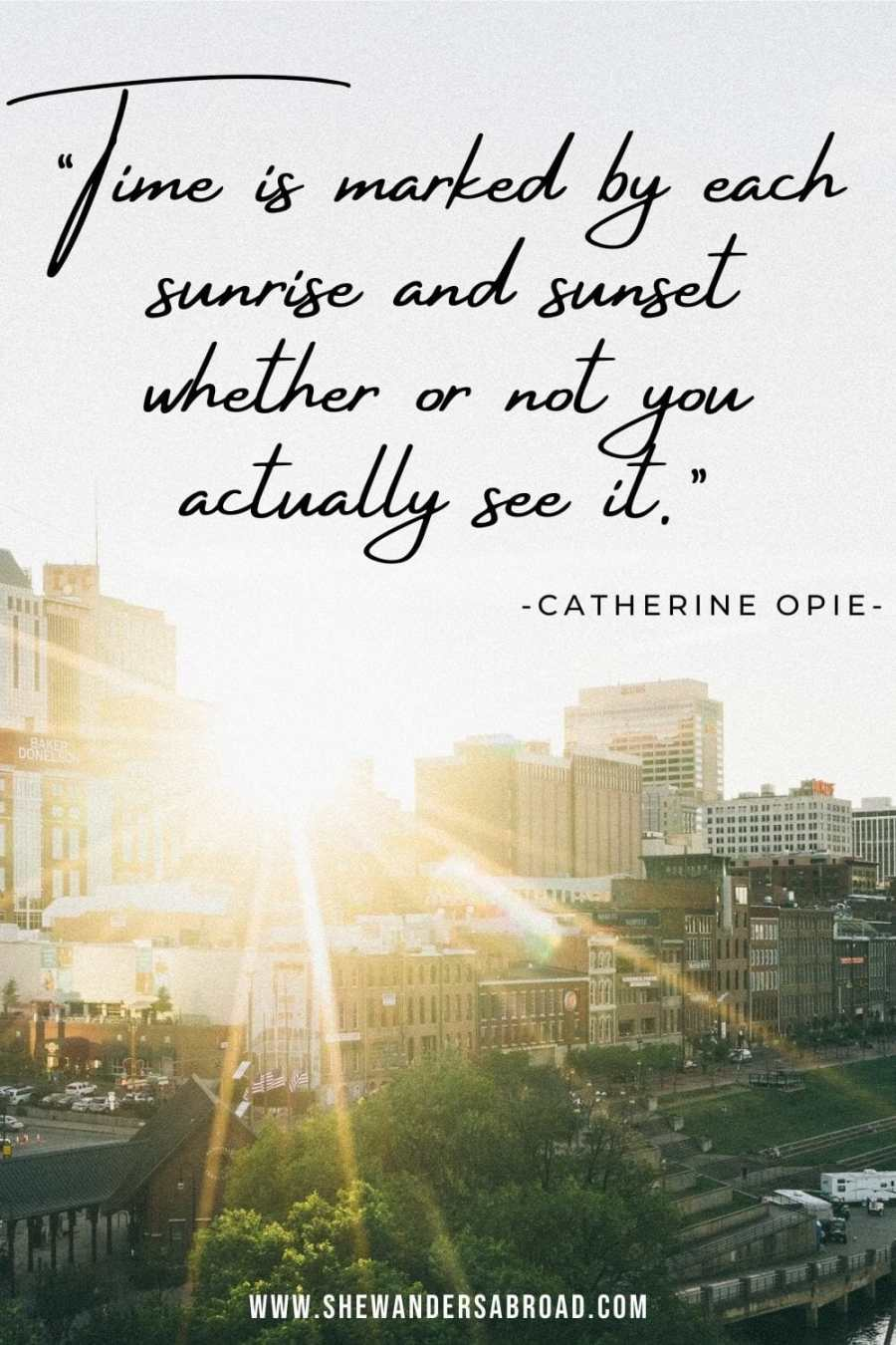 Sunrise quotes about life