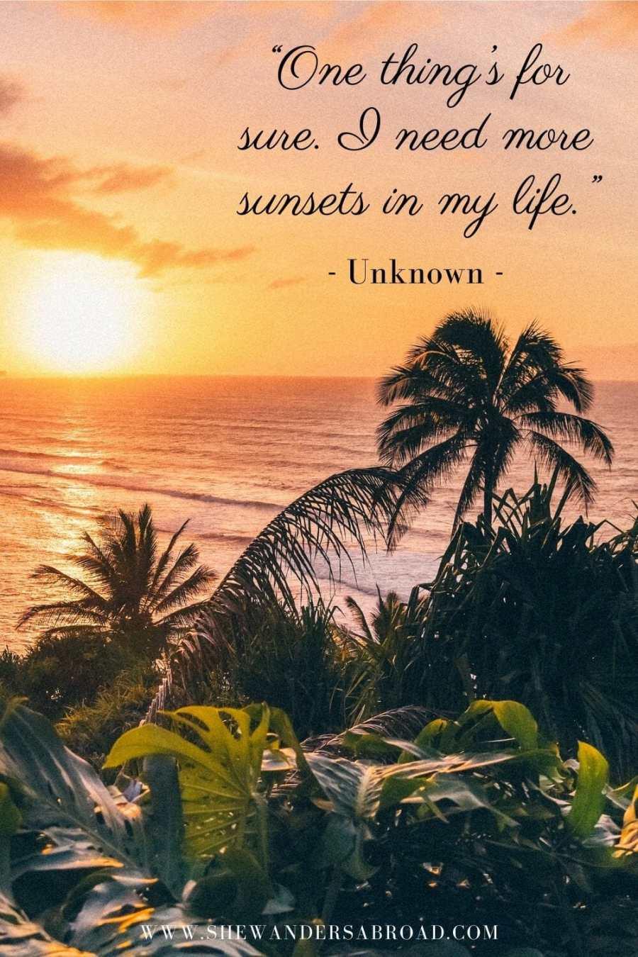Best sunset captions for Instagram