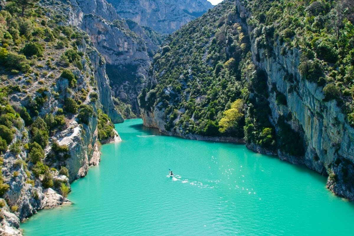 Verdon Gorge in Provence, France