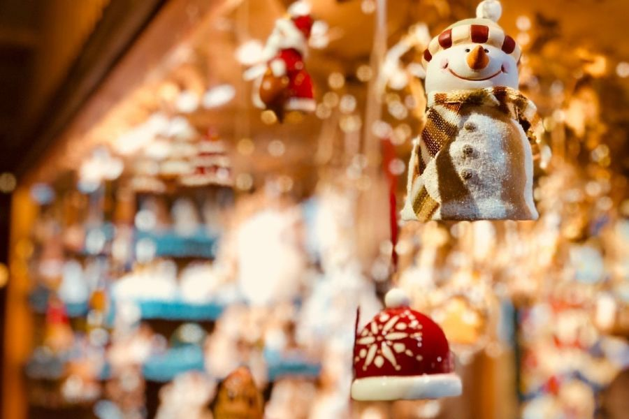 Decoration at one of the best Christmas markets in Europe