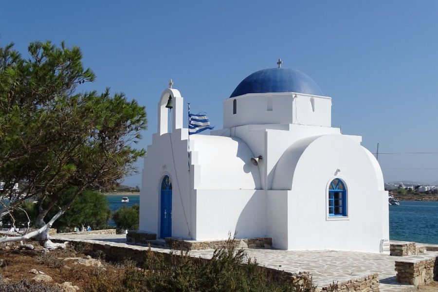 Church in Antiparos, Greece