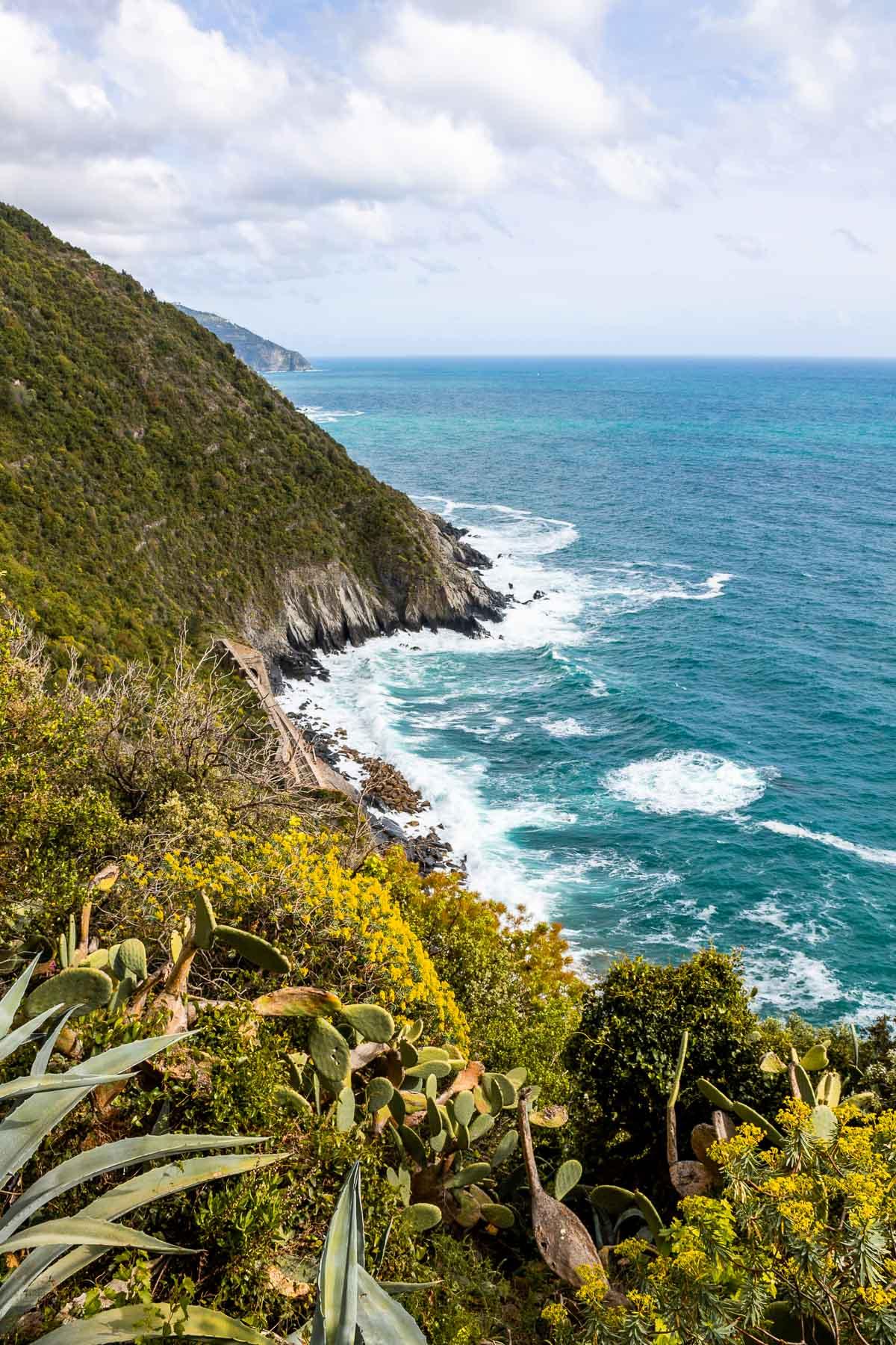 Coastline at Cinque Terre, Italy