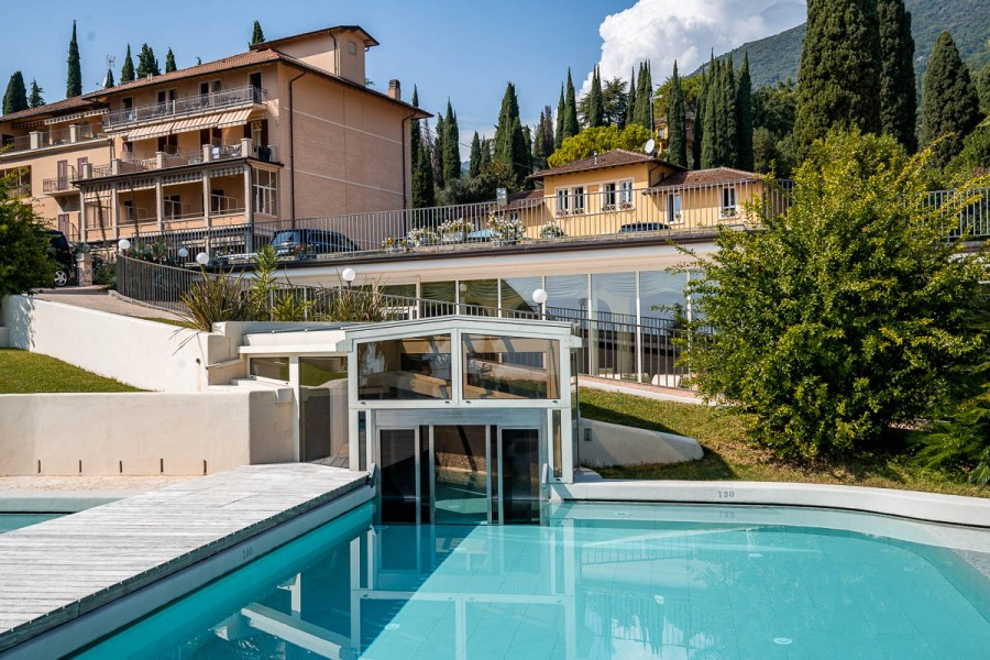 Outdoor pool at Grand Hotel Fasano
