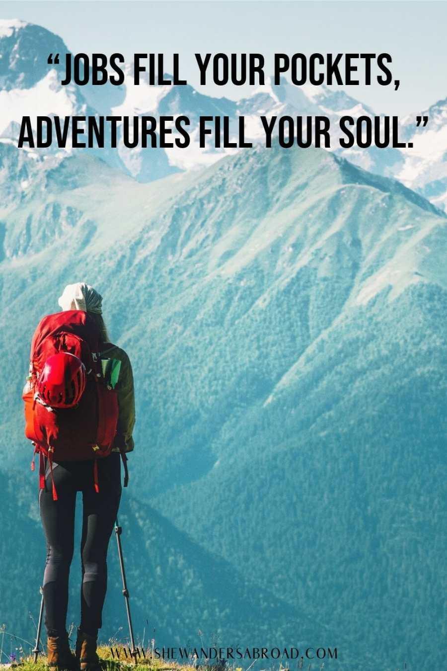 Hiking adventure quotes