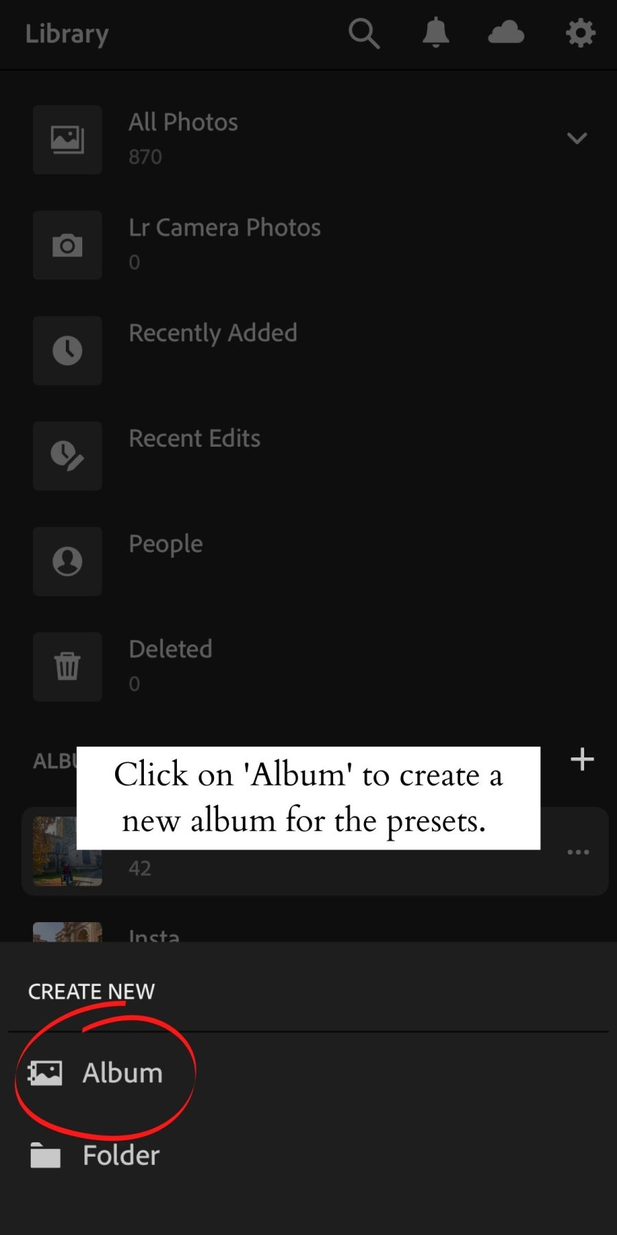 How to Install Lightroom Presets on Mobile 6