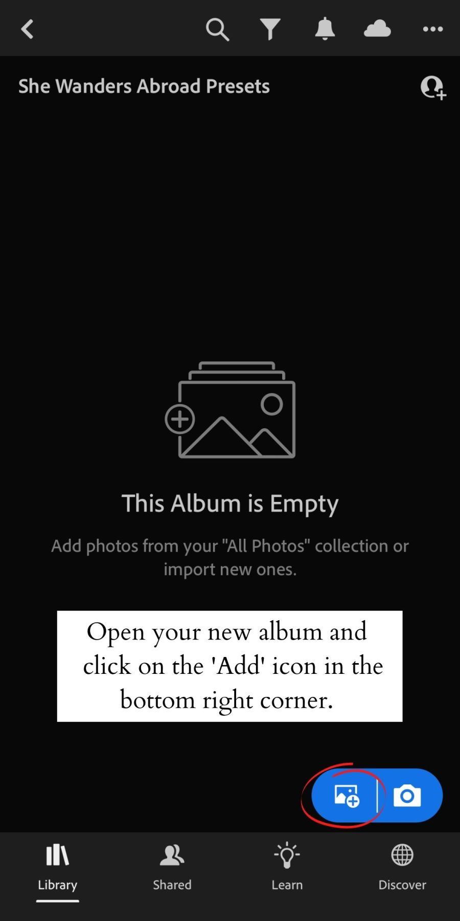 How to Install Lightroom Presets on Mobile 8