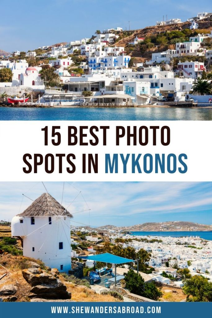 Most Instagrammable Places in Mykonos