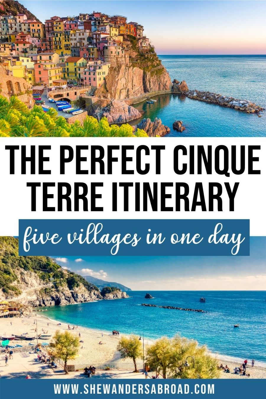 The Perfect One Day in Cinque Terre Itinerary