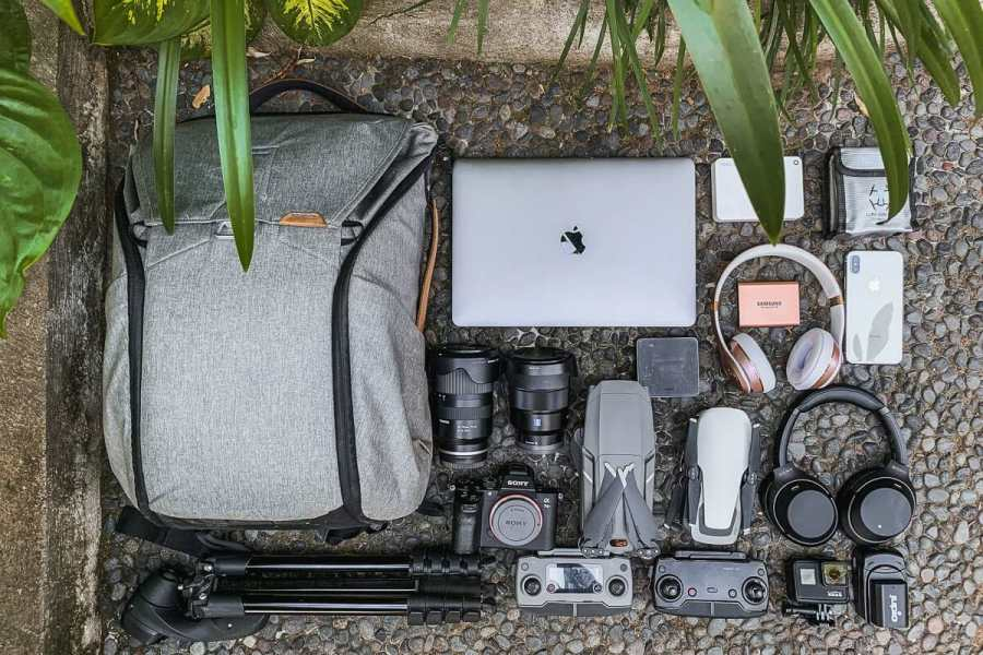 Our travel photography gear