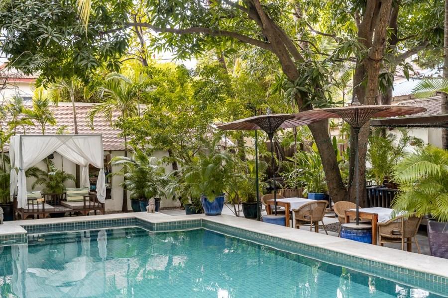 Lush Pool at Pavilion Phnom Penh