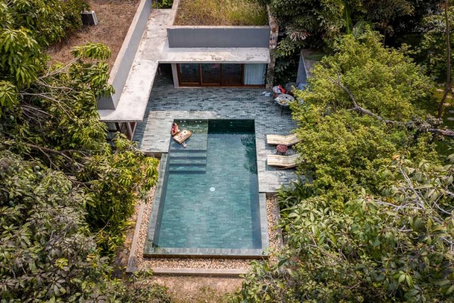 Private pool villa at Templation Siem Reap