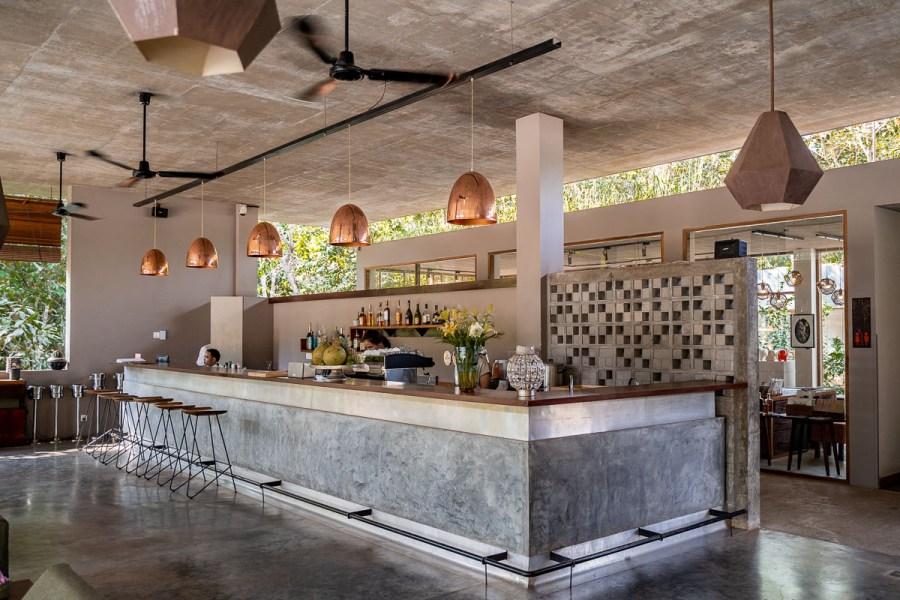 The bar at Templation Siem Reap