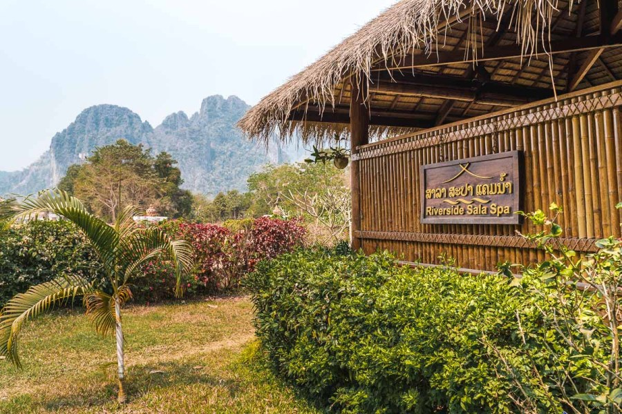 Riverside Sala Spa in Vang Vieng