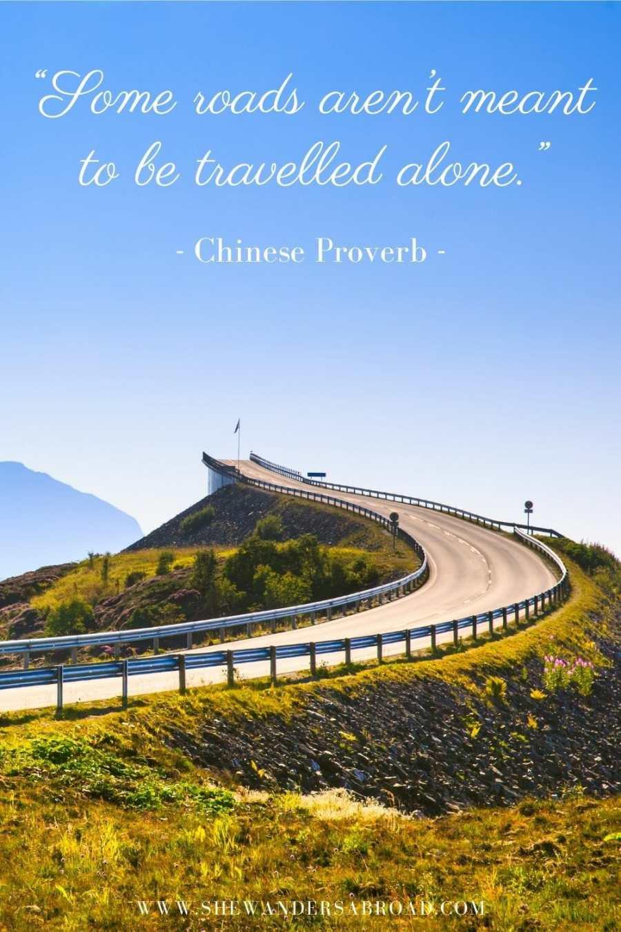 Romantic road trip love quotes