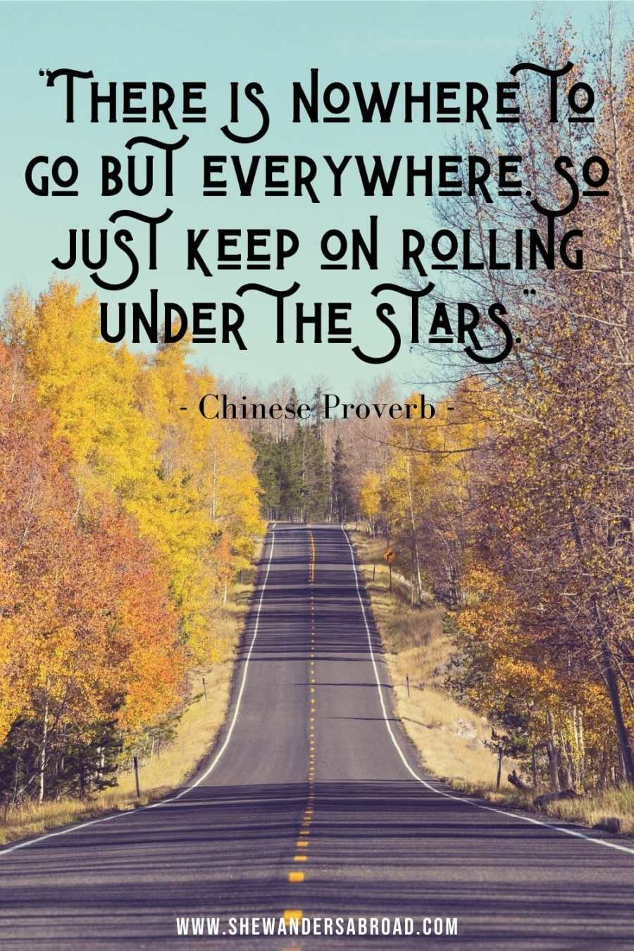 Meaningful road trip quotes