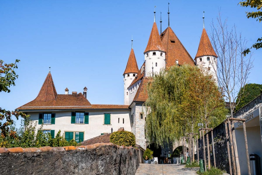 Thun Castle in Switzerland