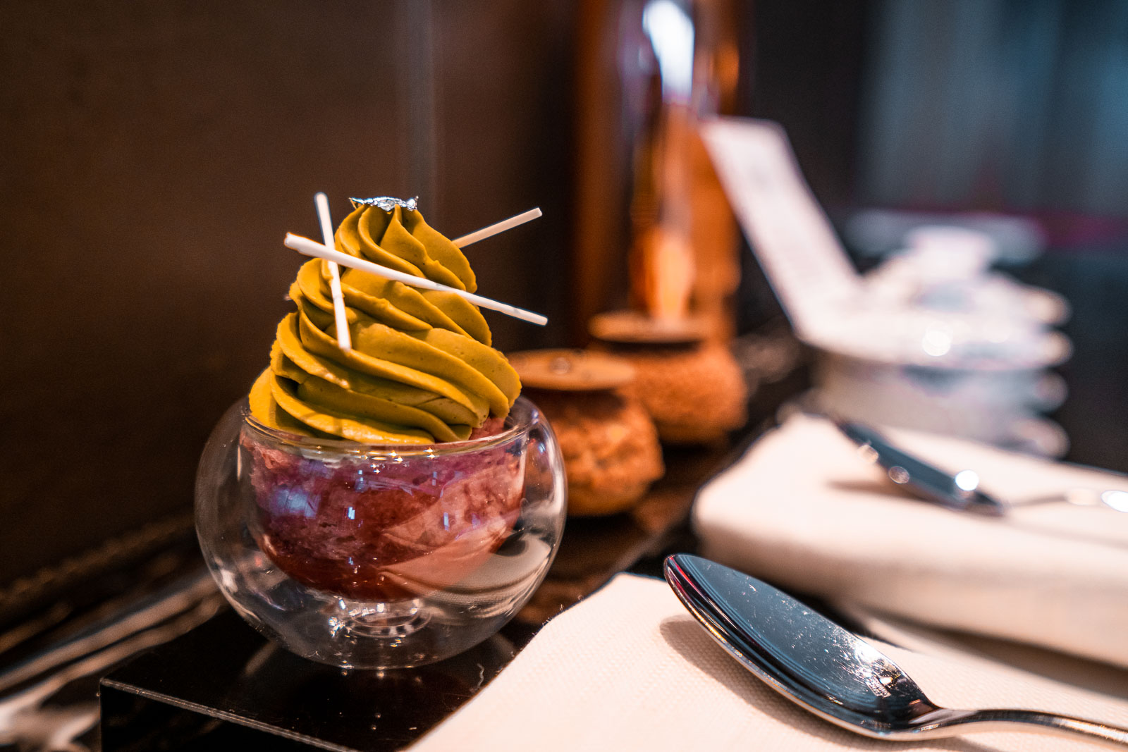 Welcome treats at the Ritz Carlton Hong Kong