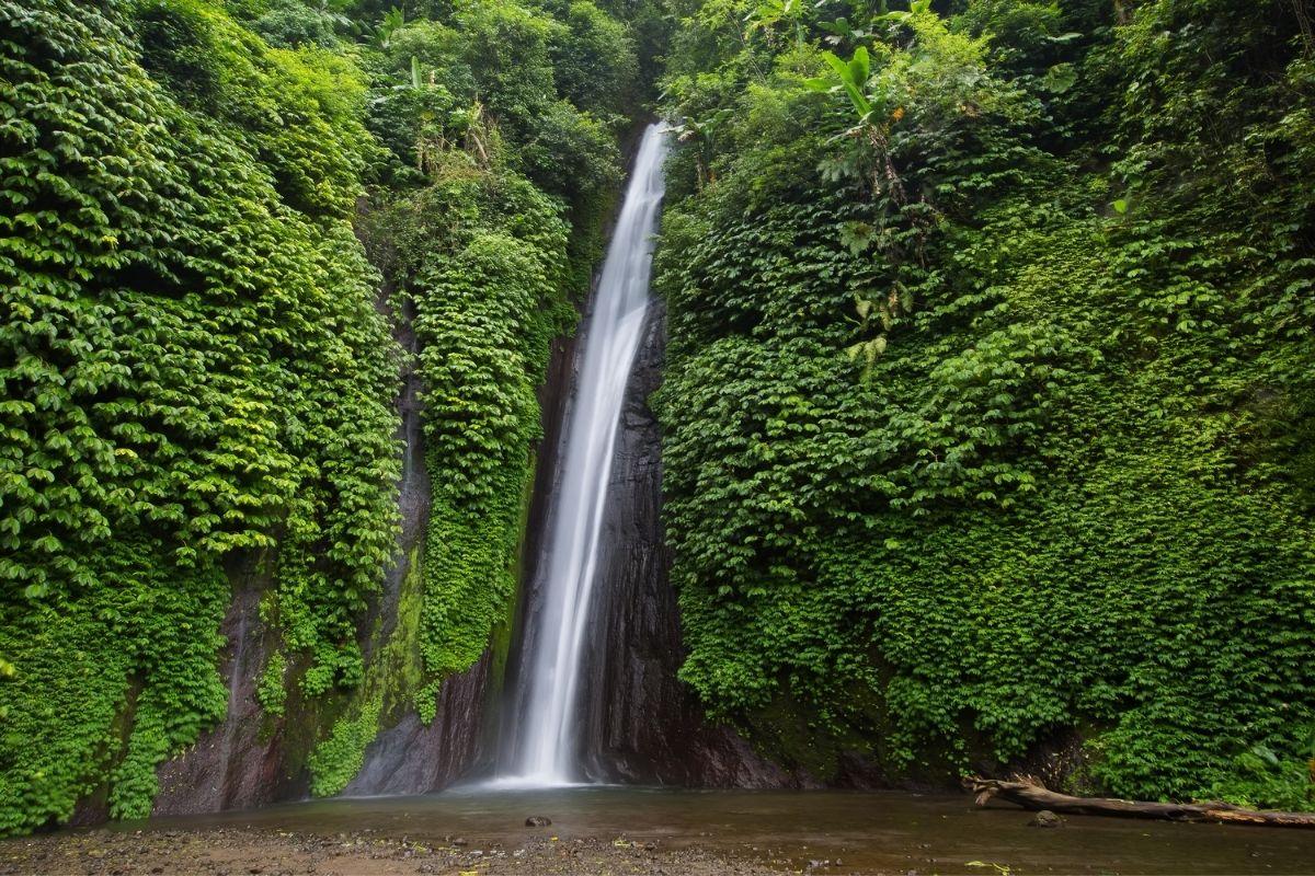 Munduk waterfall in Bali