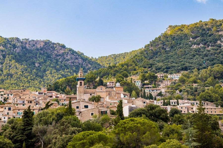 The beautiful town of Valldemossa in Mallorca
