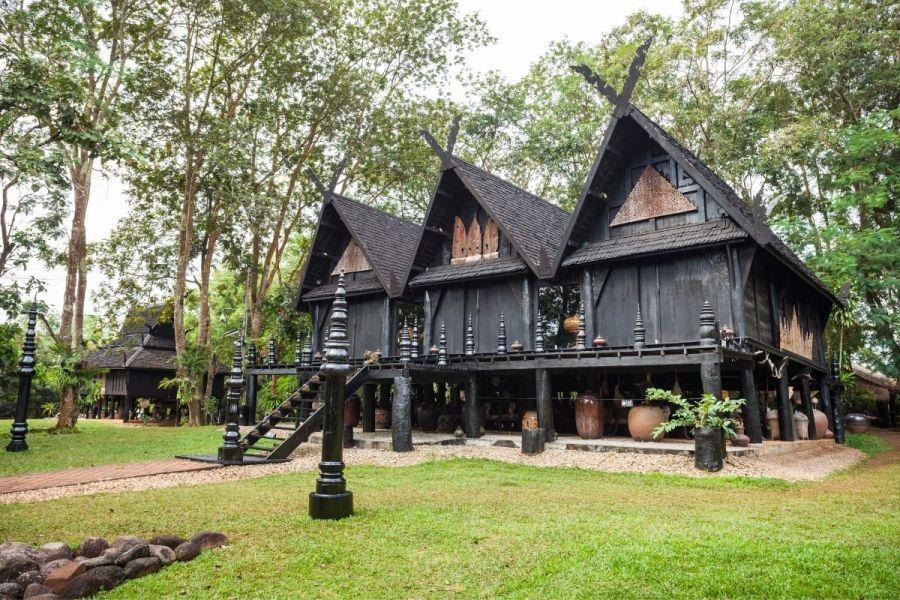 Baan Dam Black House in Chiang Rai
