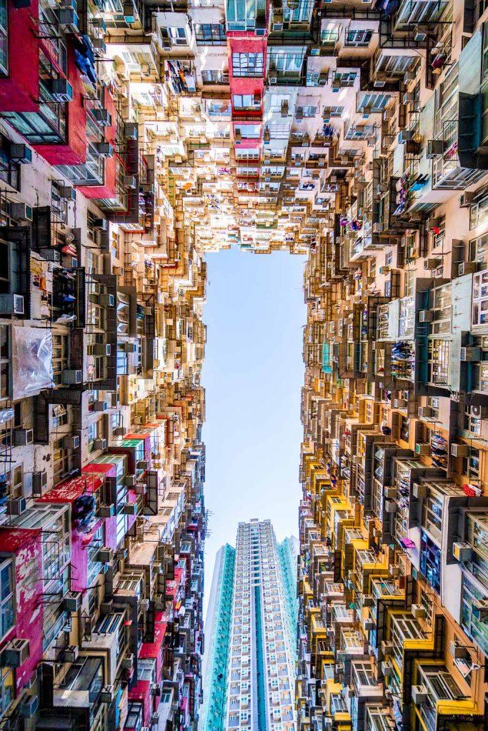 Monster building in Hong Kong
