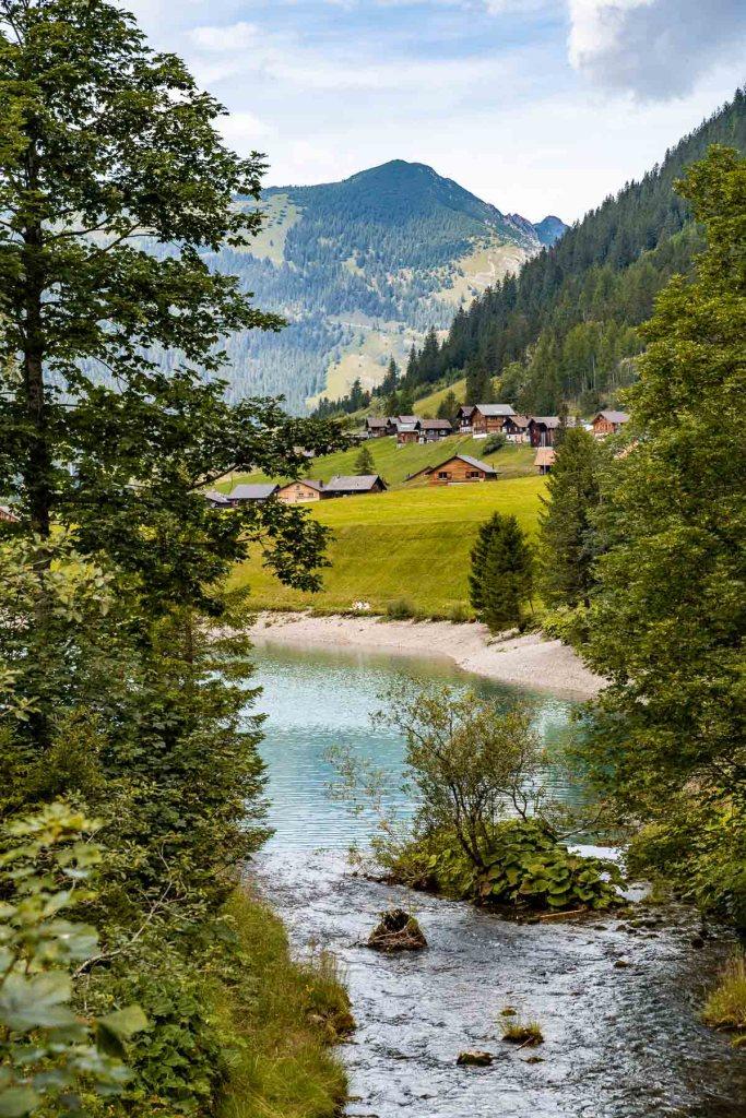 Stausee Steg, Liechtenstein