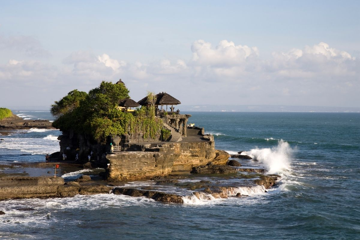 Tanah Lot Temple in South Bali