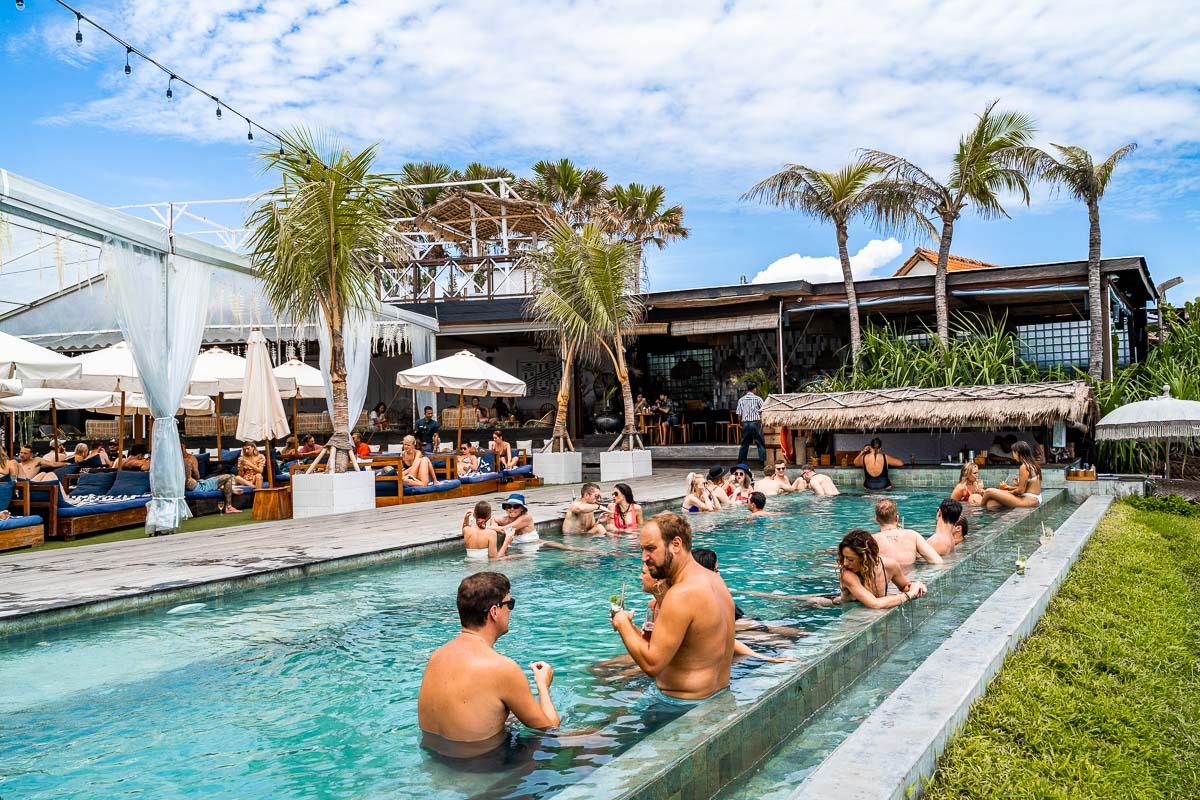 Pool at The Lawn in Canggu, Bali