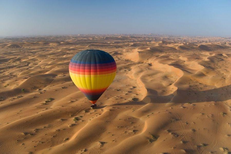 Hot Air Balloon in the Dubai Desert