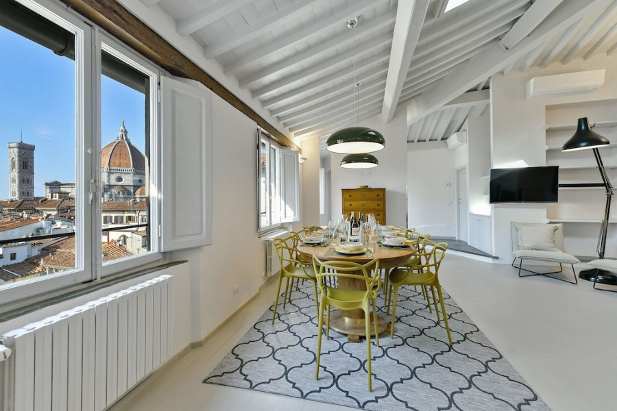 Wonderful Penthouse with Stunning View of Brunelleschi Cupola of Duomo