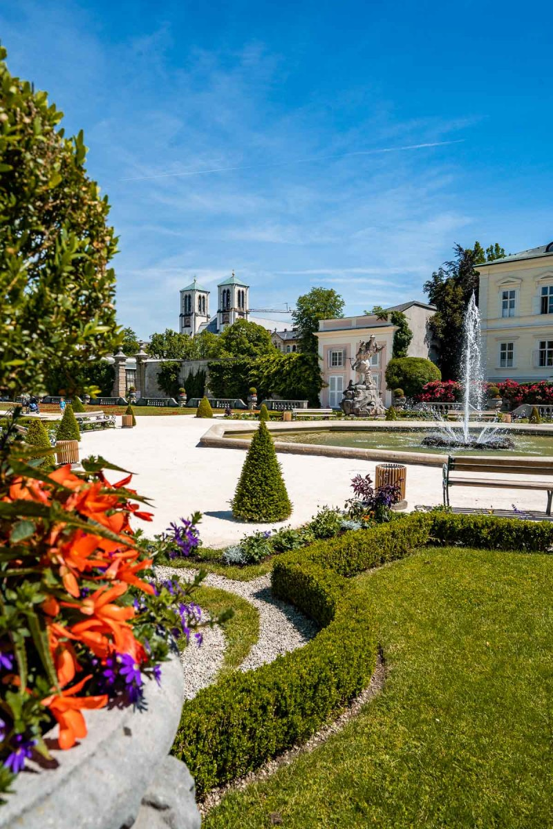 Mirabell Gardens, a must visit place on every Salzburg itinerary