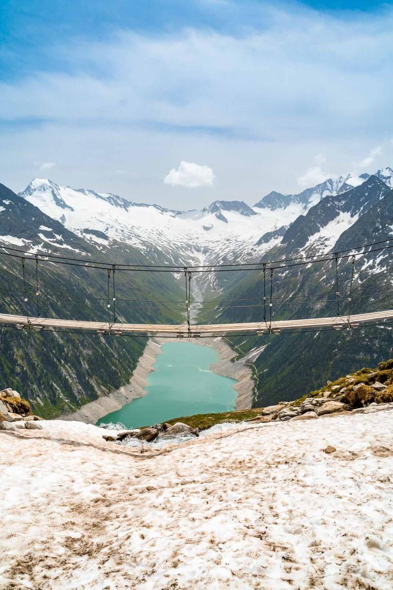 Panoramabrücke Olpererhütte, Austria